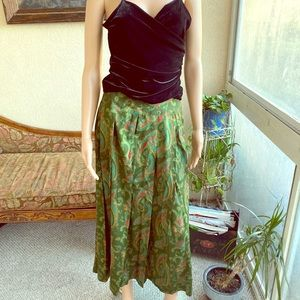 Beautiful Vintage Liz Claiborne 90's Paisley Skirt